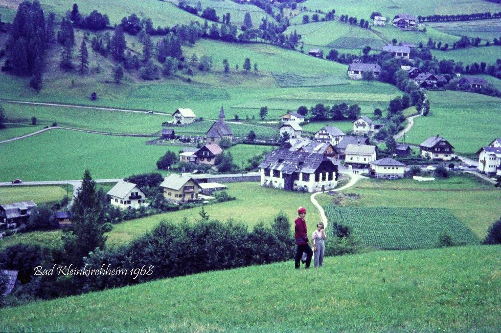 Bad Kleinkirchheim anno dazumal…