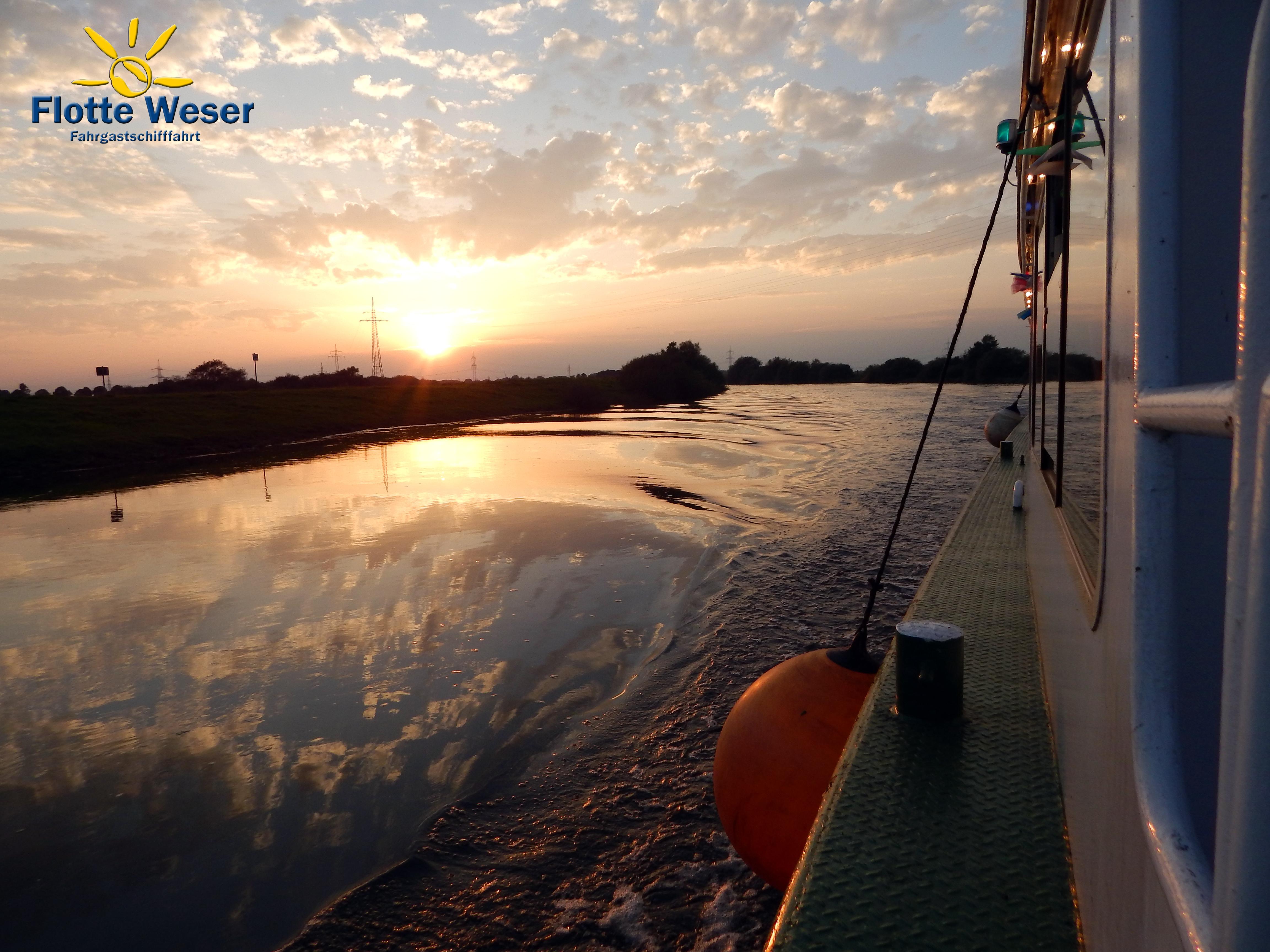 Flotte Weser * Ausflugs-, und Rundfahrten auf der Aller und Weser
