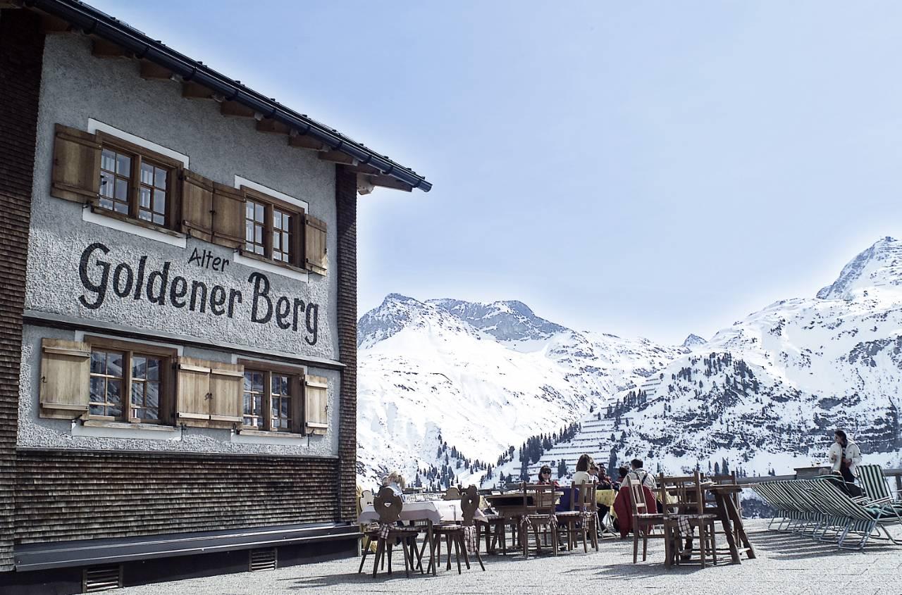 Hotel Goldener Berg – Oberlech