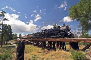 4960 Steam Engine bridge Photo Credit Grand Canyon Railway bearbeitet-1