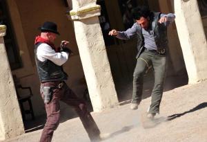 Gunfight in den Tucson Old Studios