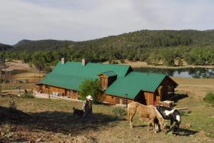 Lodge from ambush Hill