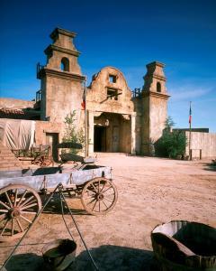 Old Tucson Studios high copyright David H. Smith
