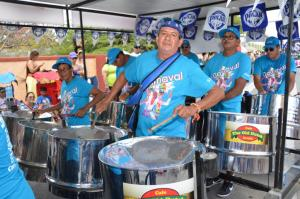 Steel Band  During Carnival 2014