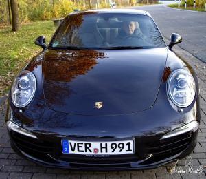 Mein Porsche - VER H 991. Porsche Carrera 911 S - 991. 294 kW / 400 PS bei 7400 U/min. 7-Gang Doppelkupplungsgetriebe,