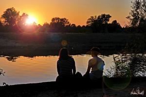 Sonnenuntergang Aller 2 Personen-1