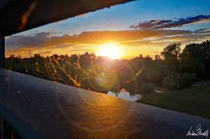 Sonnenuntergang an der Aller-05