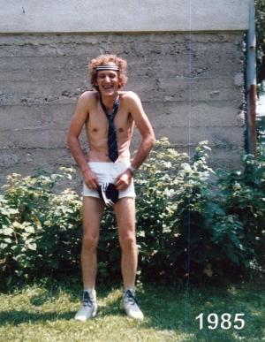 Klagenfurt Adidas Klamotten Werbung 1985