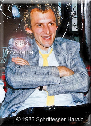 Fotoeinsatz auf Madeira im Dezember 1986