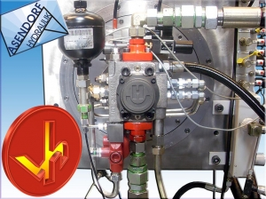 Hydraulikpumpen und technische Teile der Firma VH DAENEMARK Esjberg