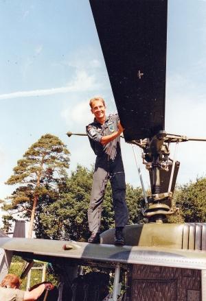 Luftwaffe in Verden zu Besuch 1990