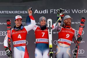 Garmisch Podium 2020