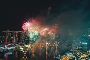 Feuerwerk Singapur 2