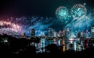 Feuerwerk Sydney