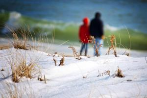 Discover Long Island Winter Beach Walk