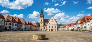 Slowakei Region  ari  (Scharosch) gotische Bardejov (Barfeld)