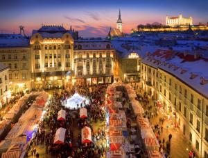Bratislava Weinacht Markt
