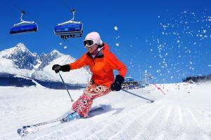 Tatranska Lomnica 1 Skispaß