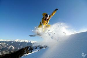 donovaly 5 Snowboarder