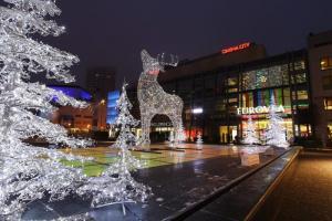 winter Bratislava