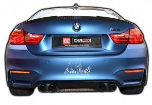 Autosonntag Verden-Aller CARCON Folierung eines BMW April 2017